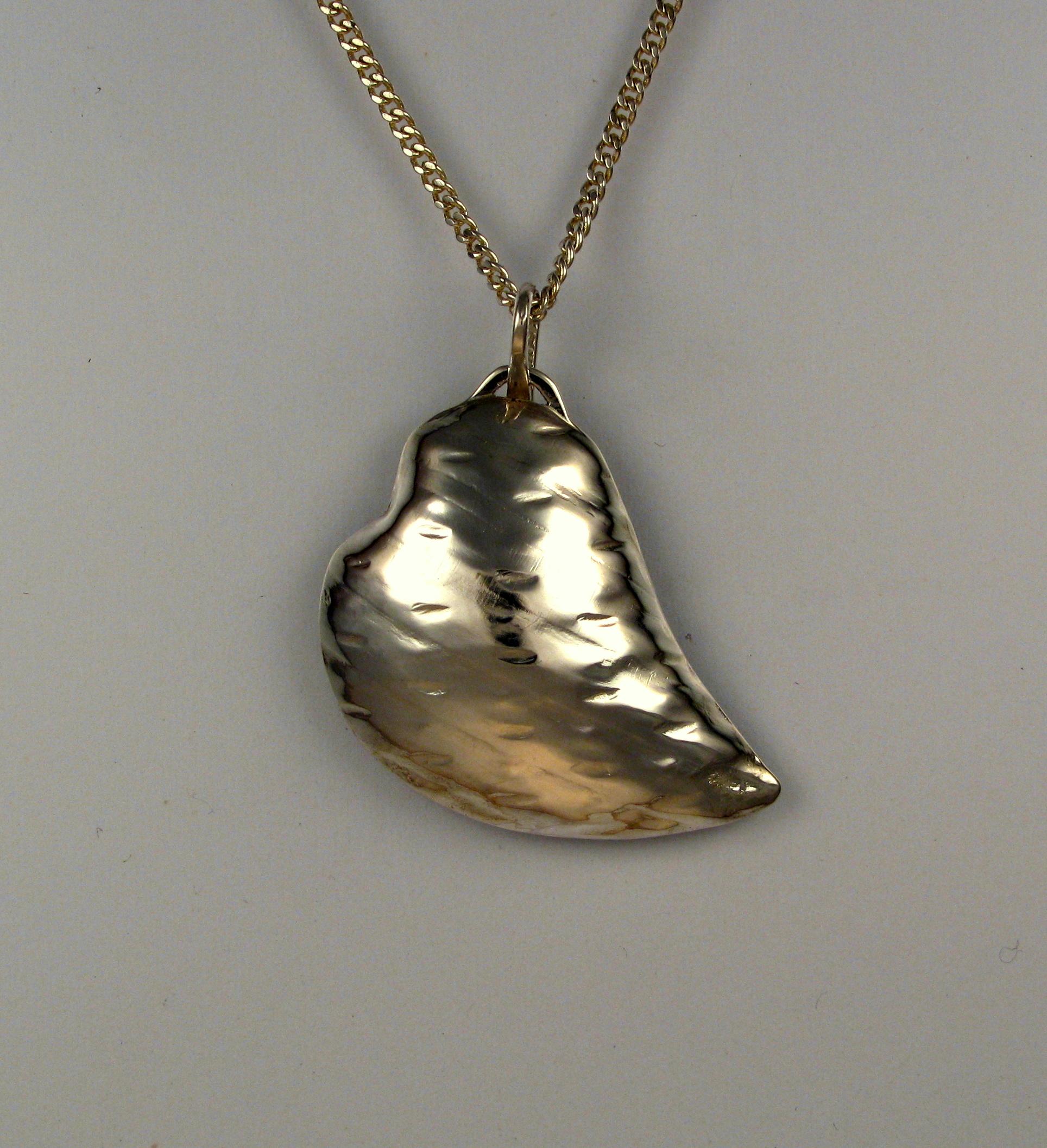 'Cushion' Heart Necklace