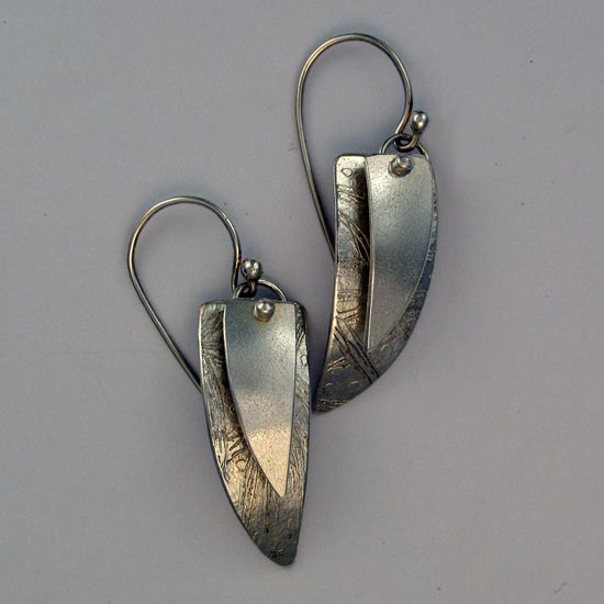 Silver Sails Earrings handcrafted jewelry