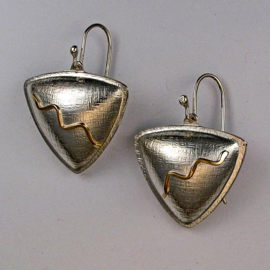 Gold & Silver earrings jewelry