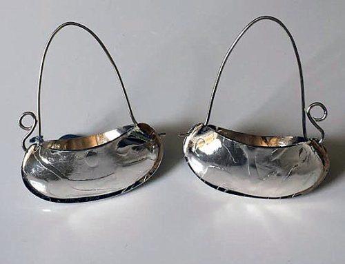 small vessel earrings