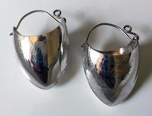 large vessel earrings