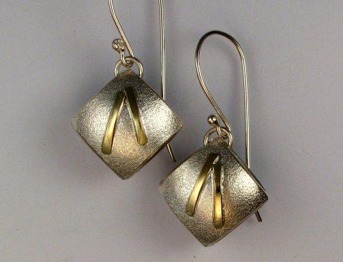 cushion earrings