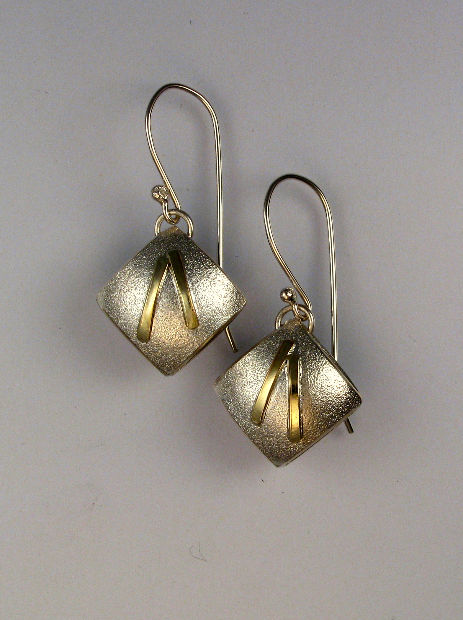 cushion earrings