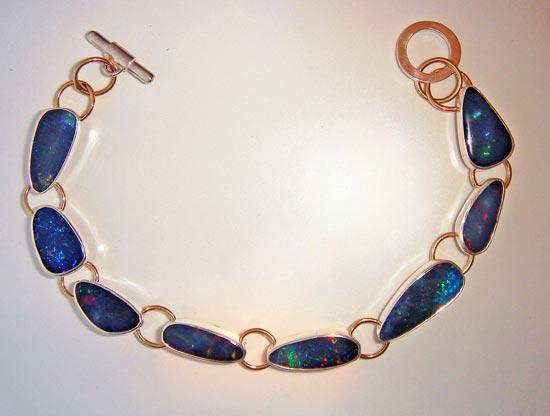 Opal Bracelet sterling silver jewelry