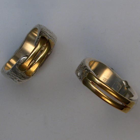 Gold & Silver Bands Rings